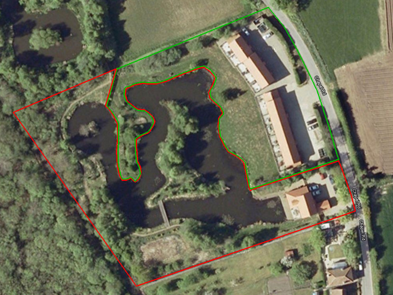 Satellite View of Site