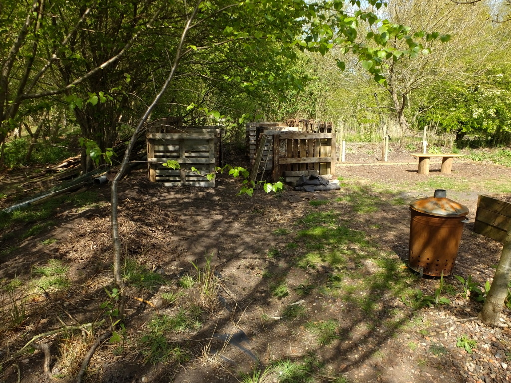 The Revised Compost Bins