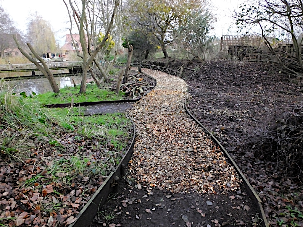 More Chippings Are Laid